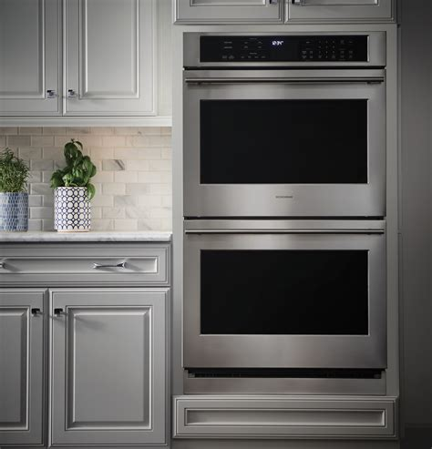 zetshss monogram  electric convection double wall oven monogram appliances