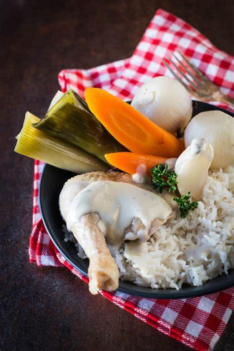poule au pot sauce supr 234 me la raffinerie culinaire