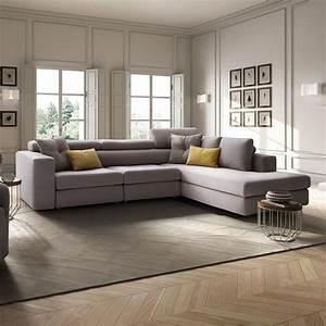 Sofa Große Liegefläche : paloma maxi 3 sitzer sofa und gro e chaiselongue zur ck klappbare kopfst tze sediarreda ~ Indierocktalk.com Haus und Dekorationen