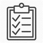 Icon Check Clipboard Checklist Mark Clipart Document