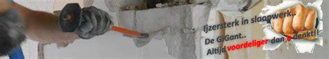 asbest verwijderen kosten berekenen sloop gigant bv