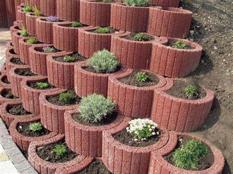 Pflanzringe Setzen  20 Tipps Für Terrassierte
