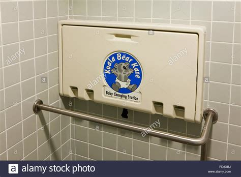 folding baby changing table  public restroom usa stock