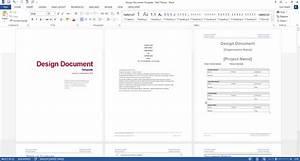 Design Document Templates  Ms Wordexcel    Data Dictionary