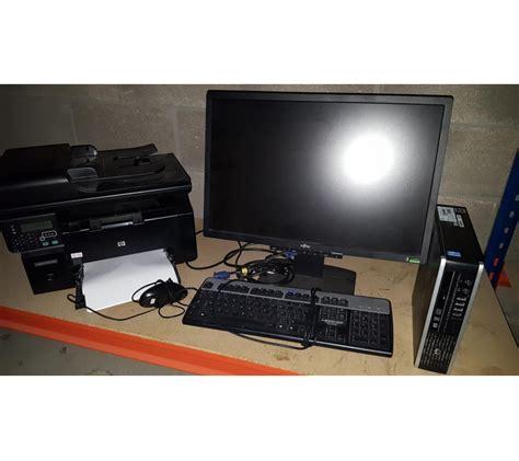 bureau surintendant des faillites ordinateur de bureau avec imprimante multifonction