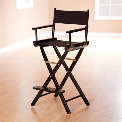 tall directors chair personalized