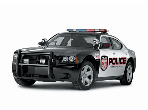 Dodge Charger Police Car, 2006