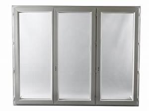 Fenetre 3 Vantaux Pvc : fen tre pvc gamme e pro 3 vantaux h 115 x l 180 cm ~ Melissatoandfro.com Idées de Décoration