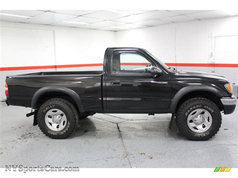 Toyota Tacoma 4x4 Cab For Sale by 2001 Toyota Tacoma Regular Cab 4x4 In Black Sand Pearl