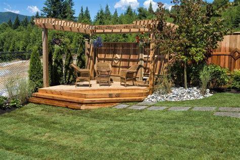 pergola design ideas garden outline