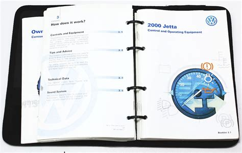 vw jetta owners manual book booklet info mk