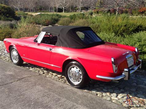 Alfa Romeo Restoration by 1963 Alfa Romeo 2600 Spider By Touring Black