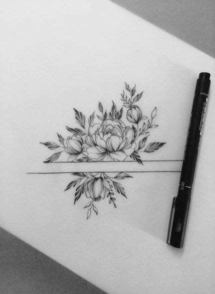 Tattoo ideas desing draw beautiful 34 New ideas #tattoo | Flower wrist tattoos, Beautiful flower