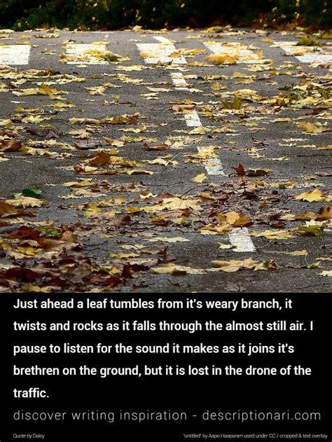 autumn quotes  descriptions  inspire creative writing