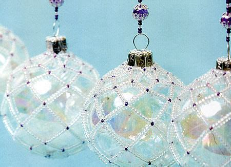 diy beaded christmas ornament covers celebrating christmas