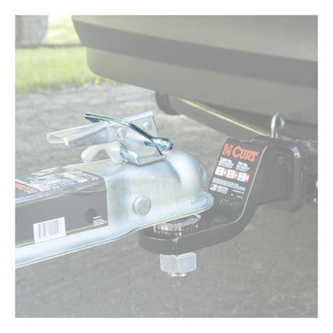 curt manufacturing 25011 coupler safety trailer hitch lock zinc 5 in ebay