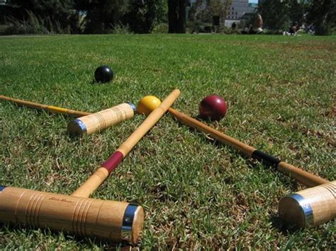 Backyard Croquet by Backyard Croquet Court Landscaping Network