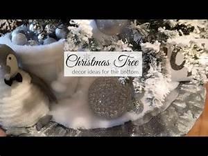 Christmas Decor Ideas the bottom of the tree
