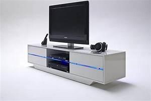 Meuble Tv Gris Et Blanc Ides De Dcoration Intrieure