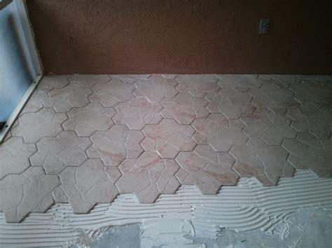 16x16 porcelain hex tile info tiling contractor talk