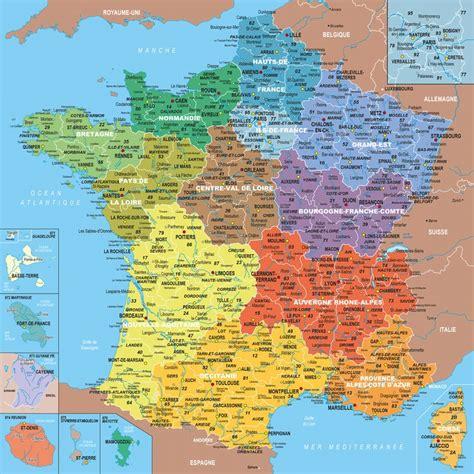 Carte De Avec Les Nouveaux Départements by Infos Sur 187 Departements Des Nouvelles Regions De