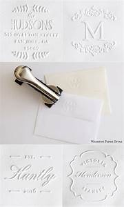 diy details for your wedding invitation suite embossing With return address embosser for wedding invitations
