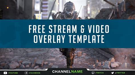 Twitch Stream Template Overlays Skyrim by Free Gfx Free Twitch Overlay Template Stream Video