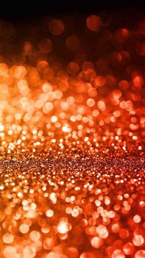Orange Glitter Wallpaper by Iphone 5c Wallpaper Wallpaper Iphone Wallpaper