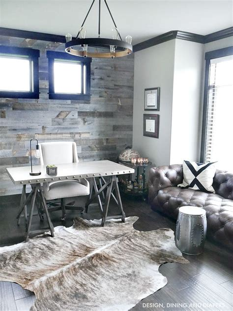 Industrial Interiors Home Decor by Industrial Modern Rustic Office Home Decor So Beautiful