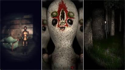 Horror Games Indie Scream Website Feel