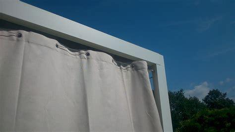 rideaux cuisine un rideau extérieur est un excellent brise vue rétractable
