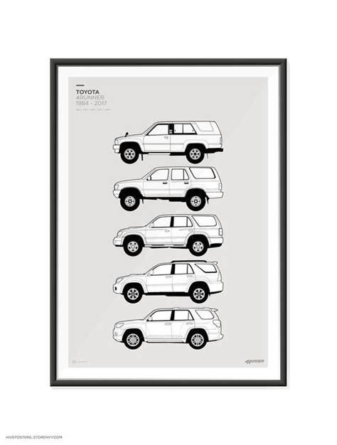 Toyota 4Runner Generations Poster