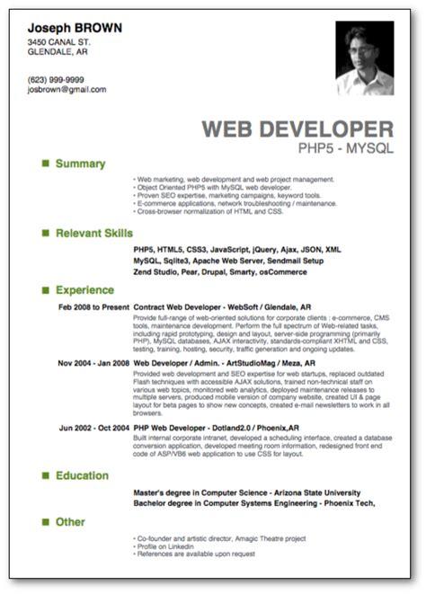 Top 10 Professional Resume Templates 1 10 Resume Cv