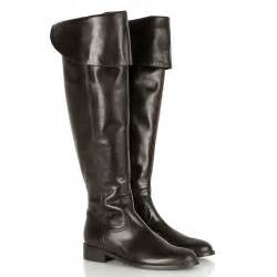 womens flat leather boots sale daniel brown energy s flat knee high boot