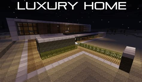 My Luxury Home Minecraft Project