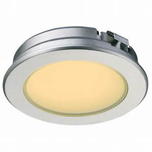 Cabinet Lighting, Loox LED 350mA #4016 Recessed Round Puck