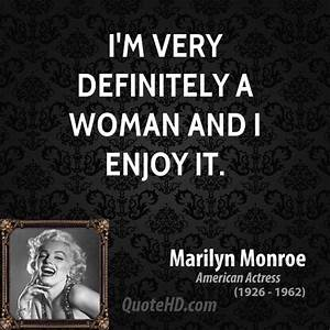 Strong Women Quotes Marilyn Monroe. QuotesGram