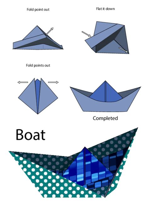 Origami Boats For Beginners by How To Make A Simple Origami Boat Easy Origami