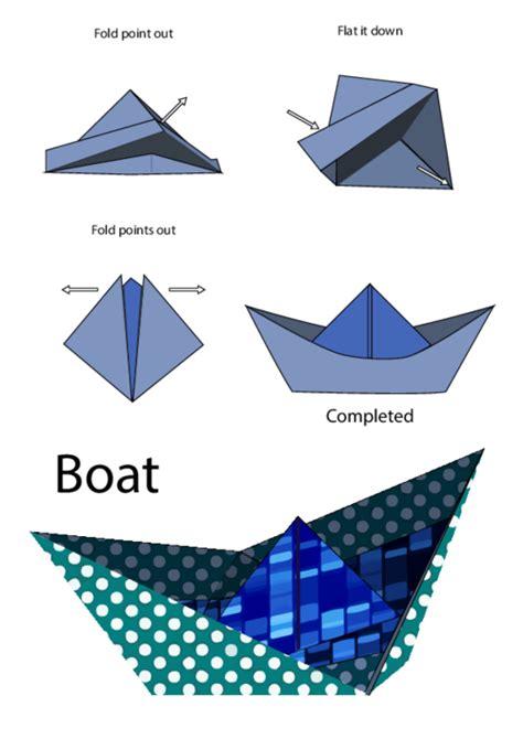 Easy Origami Boat Directions by Easy Origami Boat Kidspressmagazine