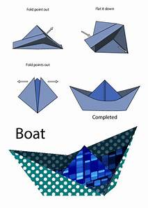 Easy Origami Instructions – Boat - KidsPressMagazine.com