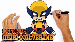 How To Draw Wolverine X Men Youtube