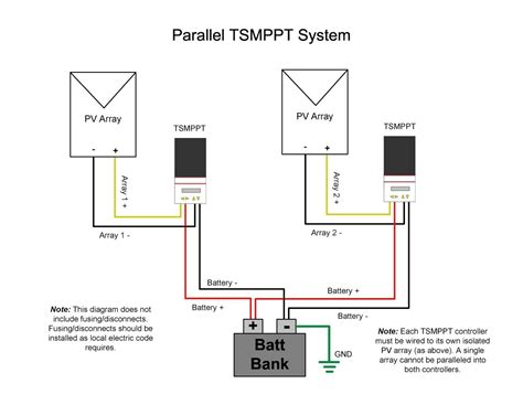 parallel wiring diagram solar panel info rv  series