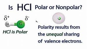 Is Hcl Polar Or Nonpolar