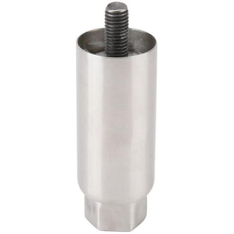 stainless steel countertop legs avantco egleg replacement stainless steel adjustable 3 1 2