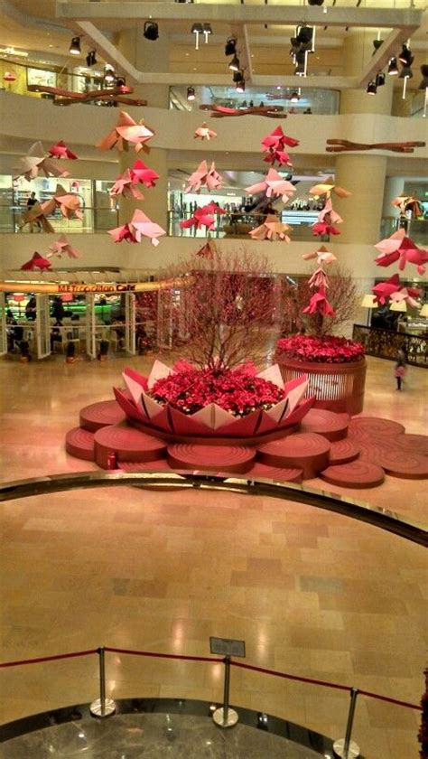 Casual Shopping Mall Decorations  Chinese New Year