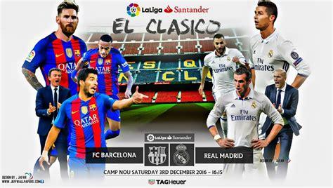 Alineación Barcelona-Real Madrid Jornada 14 | El clásico 2016