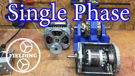Electric Motor Breakdown by How Motors Work For Beginners Episode 4 Single Phase