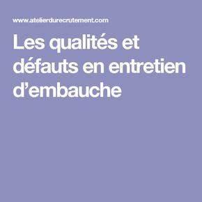 Qualités Et Défauts Entretien : 8 best cv images on pinterest resume templates airplanes and commercial ~ Medecine-chirurgie-esthetiques.com Avis de Voitures