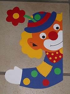 Basteln Mit Grundschulkindern : fensterbild tonkarton karneval fasching fenstergucker clown blume deko neu karneval deko ~ Orissabook.com Haus und Dekorationen