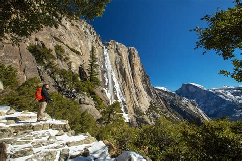Yosemite Falls Hike The Top National Park
